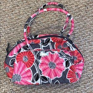 Quilted Vera Bradley bag w matching change purse